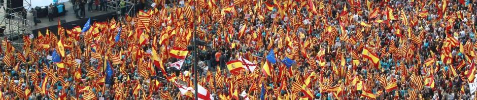 banderas_espana_barcelona_efe