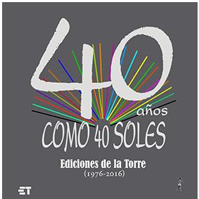 40 Años Como 40 Soles Libros Abrazos Y Otros Asuntos