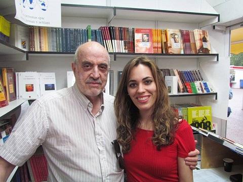 Con Marina en la Feria 280516